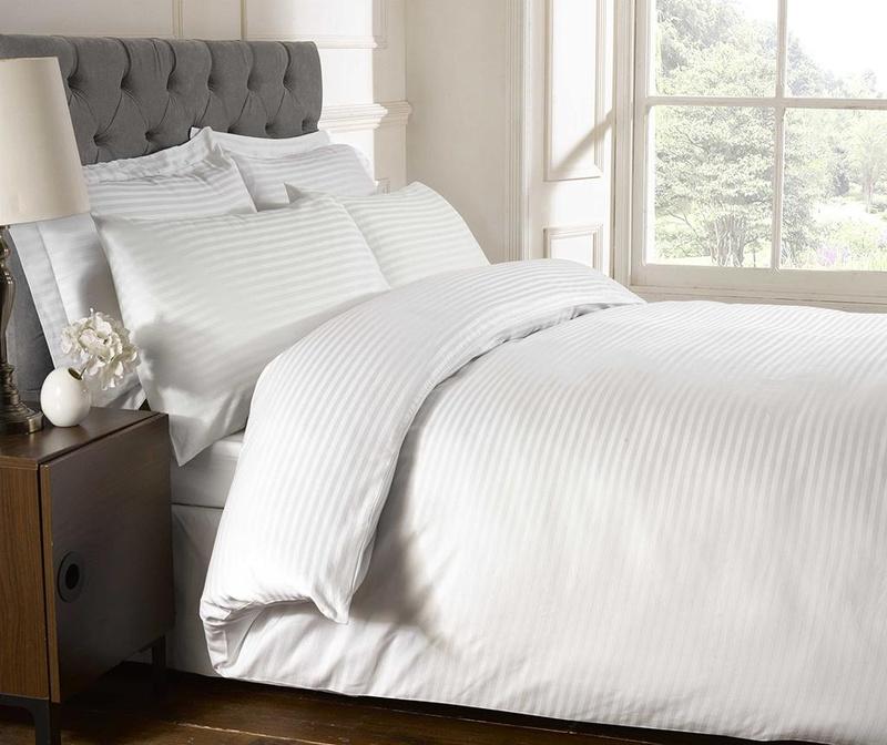 Prevleka za prešito odejo Brighton Hill Premium White 200x200 cm