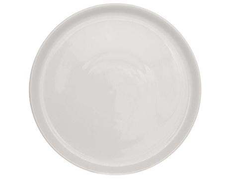 White Pizza szervírozó tál