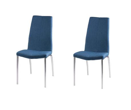 Set 2 scaune Carla Dark Blue