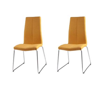 Комплект 2 стола Aroa Yellow