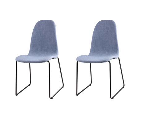 Комплект 2 стола Helena Light Blue