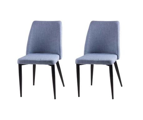 Set 2 scaune Melissa Light Blue