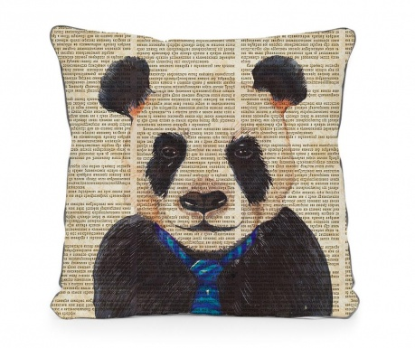 Ukrasni jastuk Panda Newspaper 45x45 cm