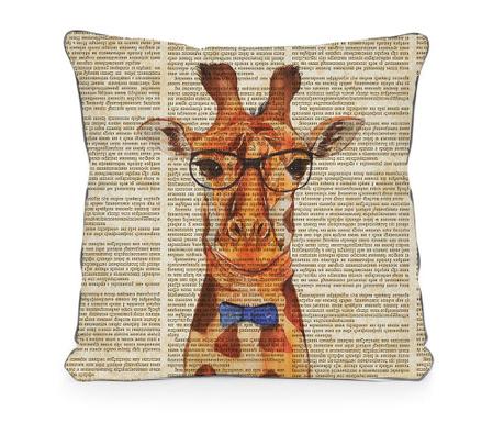 Ukrasni jastuk Giraffe Newspaper 45x45 cm