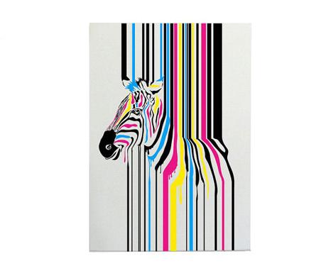 Slika Zebra Fusion 50x70 cm