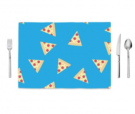 Pizza for Breakfast Tányéralátét 35x50 cm