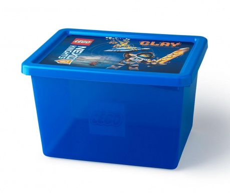 Kutija za pohranu s poklopcem Lego Nexo 18 L