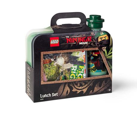 Lego Ninjago Movie Uzsonnás doboz és sportpalack