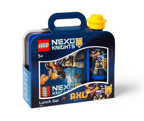 Set cutie pentru pranz si sticla sport Lego Nexo