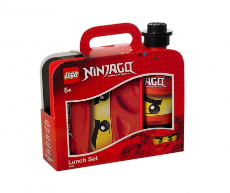 Set cutie pentru pranz si sticla sport Lego Ninjago