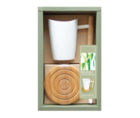 Комплект чаша и подложка Bamboosa