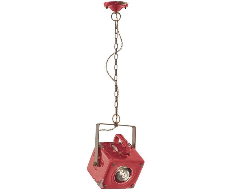 Stropna svetilka Tavolo Red