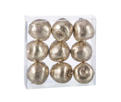 Комплект 9 декорации Golden Apples