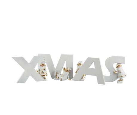 Комплект 4 декорации Xmas Letters