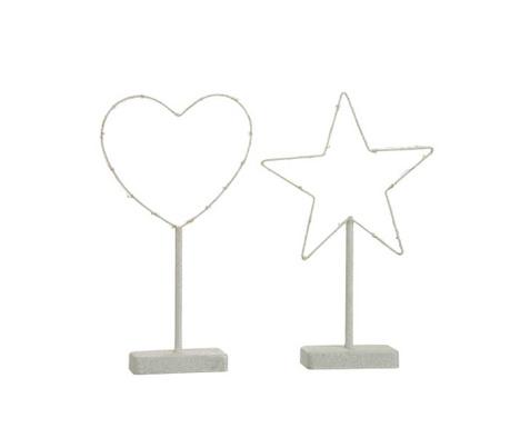 Комплект 2 светещи декорации Jolie Symbols