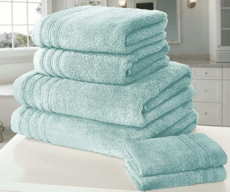 Set 6 kupaonskih ručnika So Soft Duck Egg