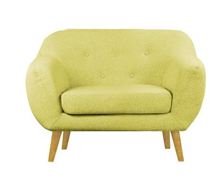 Fotelja Oslo Moustard