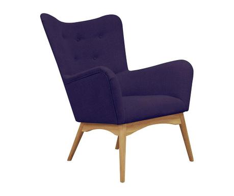 Fotel Karl Violet
