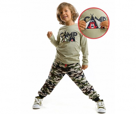 Set bluza si pantaloni Camp Boy