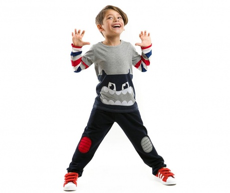 Set bluza si pantaloni Big Mouthed Monster