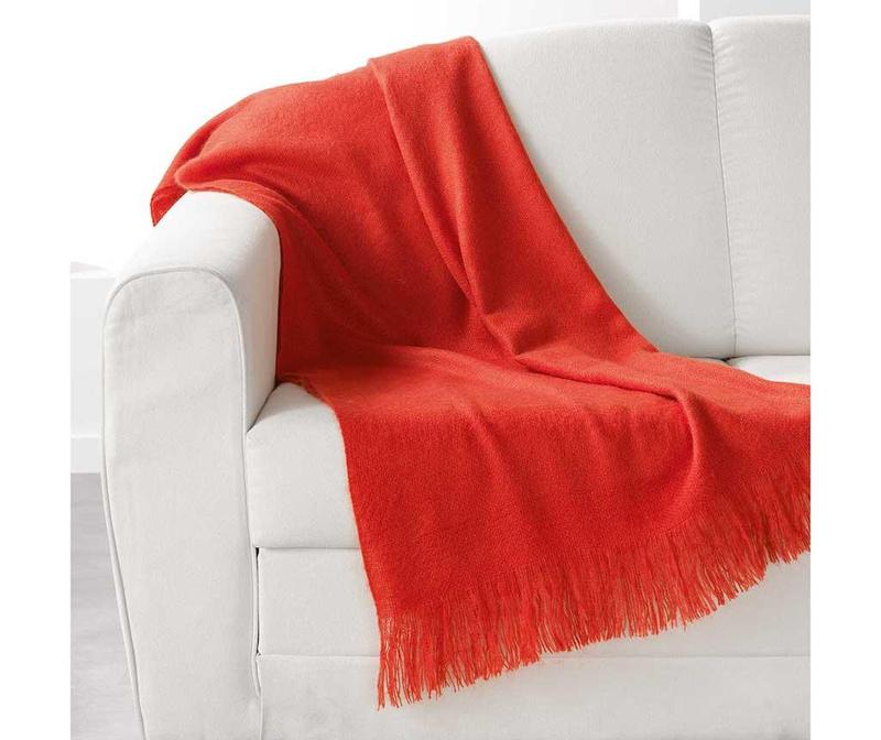 Pokrivač Shelly Orange 120x150 cm