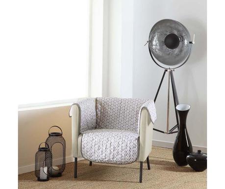 Ватиран калъф за фотьойл Kiria Grey 165x179 см