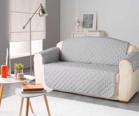 Kiria Grey Steppelt huzat kanapéra 179x279 cm