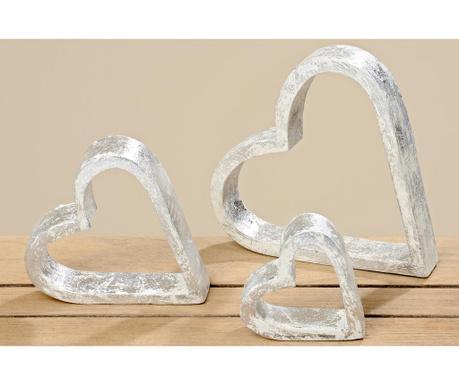 Комплект 3 декорации Hearts