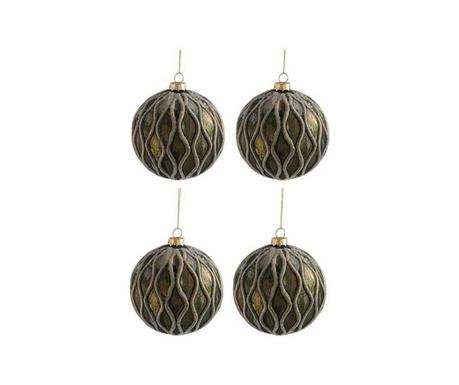 Комплект 4 декоративни топки Line Effect