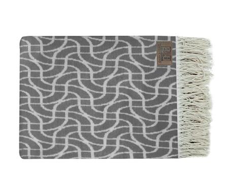 Lines Grey Pléd 130x170 cm