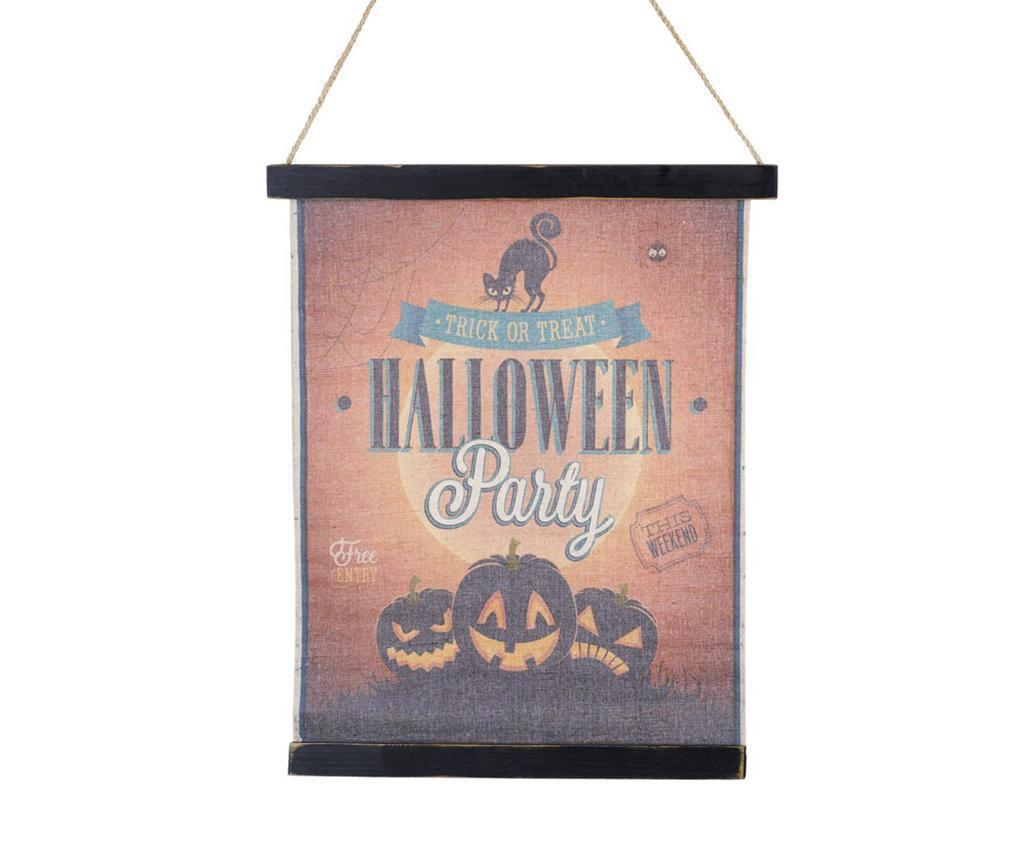 Halloween Sign Fali dekoráció