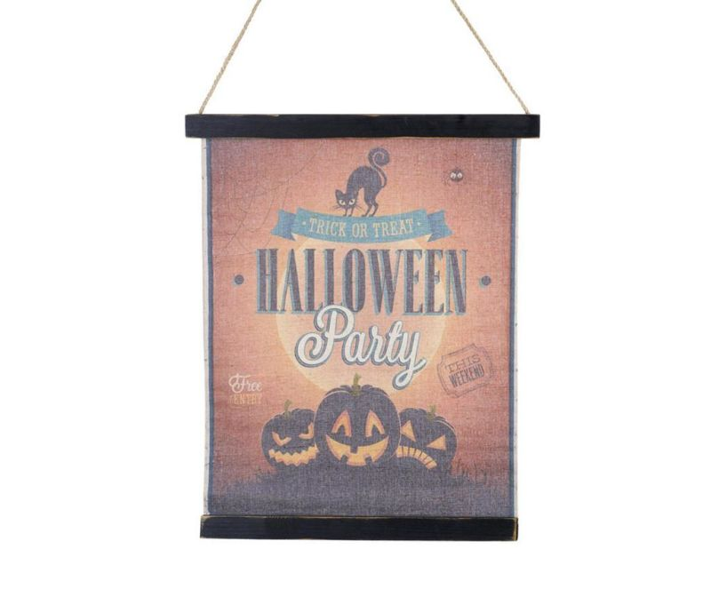 Stenska dekoracija Halloween Sign