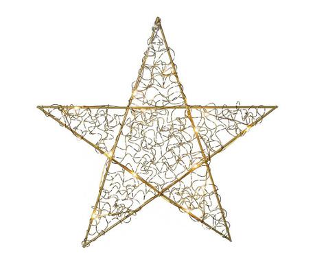 Висяща светеща декорация Loop Star