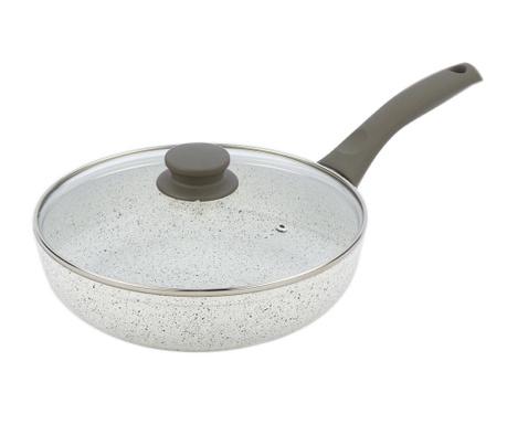 Тиган с капак Stonewhite Gray 24 см