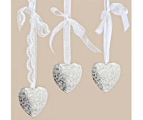Комплект 3 висящи декорации Romantic