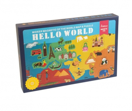 Edukativna igra Hello World Magnetic