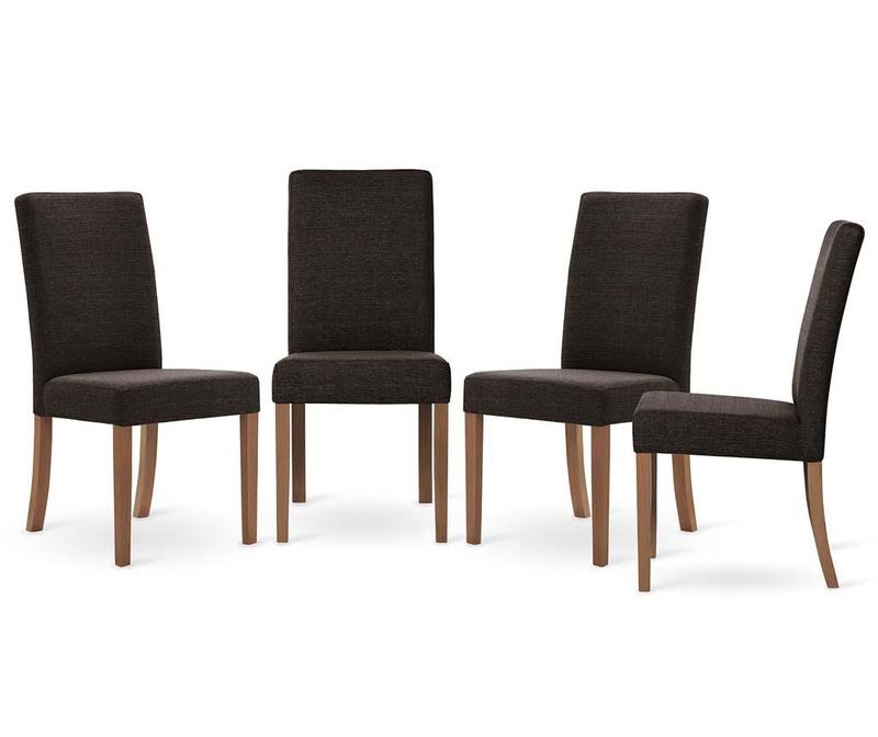 Set 4 scaune Tonka All Brown