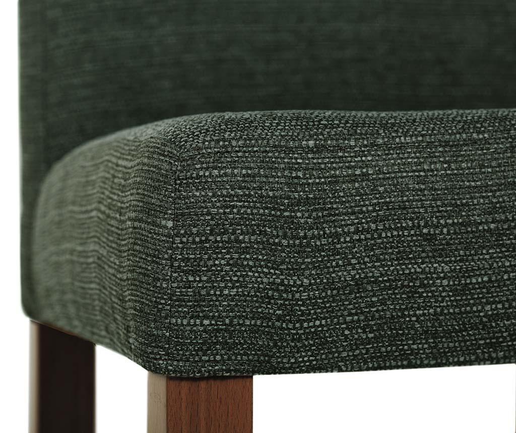 Set 4 scaune Tonka Brown Green