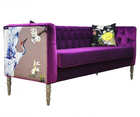 Loveseat Purple Dream Three Szófa