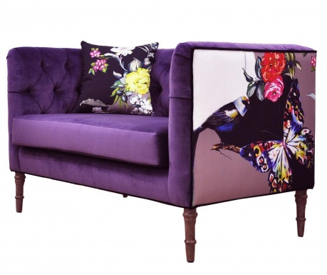 Loveseat Purple Love Szófa