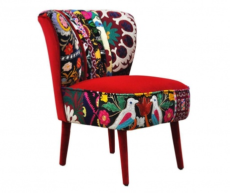 Clubchair Red Love Fotel