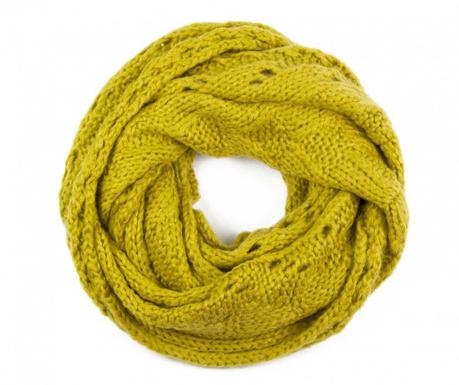 Fular circular Chip Yellow 40x150 cm