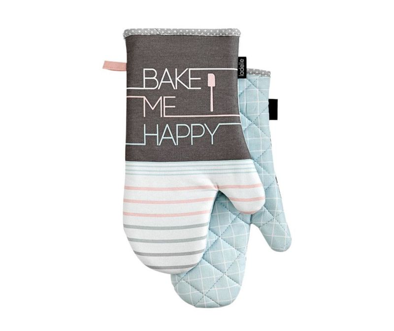 Set 2 manusi de bucatarie Bake Me Happy