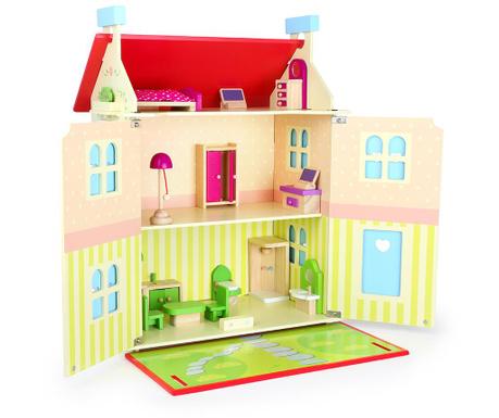 Domek dla lalek z akcesoriami Villa