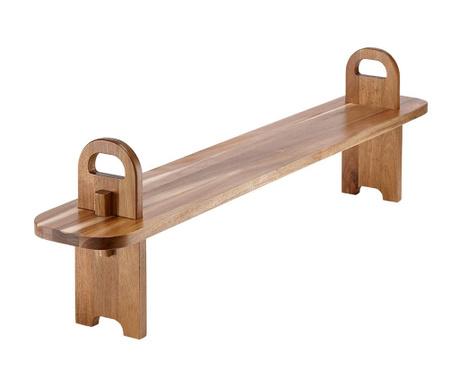 Servirni krožnik za prigrizke Tapas Plank Wide
