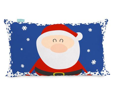 Santa and Reindeer Párnahuzat 30x50 cm