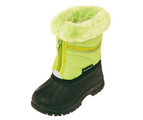 Otroški škornji Fluff Tall Green 20-21