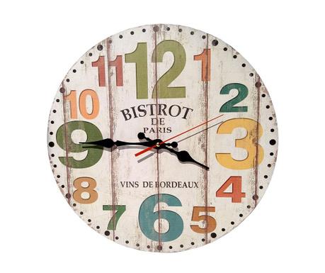 Стенен часовник Bistrot de Paris