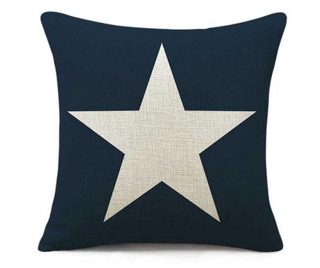 Калъфка за възглавница Big Star Navy 45x45 см