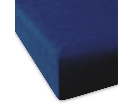 Cearsaf de pat cu elastic Casual Navy